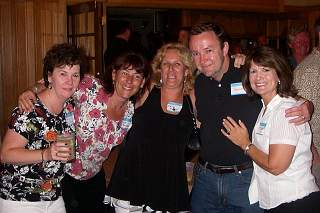 [Mary Connors, Denise Reynolds, Kelly Mahar, Jim Harrington, and Kyle O'Connell picture]