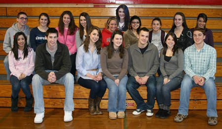 Photograph of the SHS Class of 2010 Board of Directors, 2010