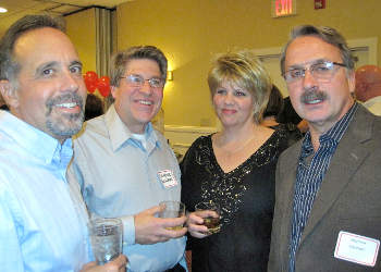 Photograph from the Class of 1975 35th class reunion (Nov. 27, 2010).
