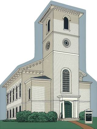 Image of the First Congregational Church Collectible