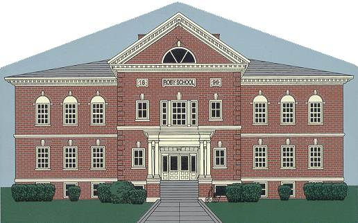 Image of the Roby School Collectible