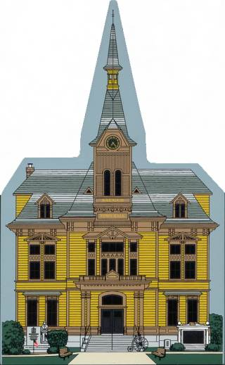 Image of the Saugus Town Hall Collectible